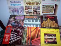 DISQUES VINYLES PIANO - ORGUE / ORGAN VINYL RECORDS