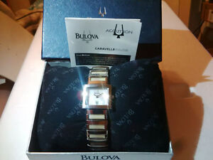 Montre Bulova Caravelle Accutron Water Resist Stainless Steel