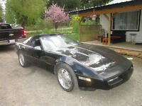 1990 Corvette Coupe 2 removable roofs included