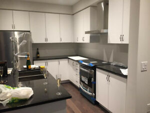 Kitchen Cabinets Modern White Brand New for Sale