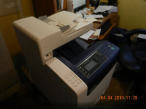 Xerox 6505 WorkCentre All-In-One printer, copier, scanner and fa