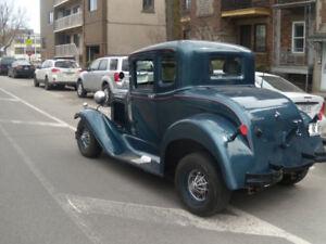 FORD 1930 MODIFIER CARROSSERIE EN MÉTAL MÉCANIQUE CHEVROLET V8 -