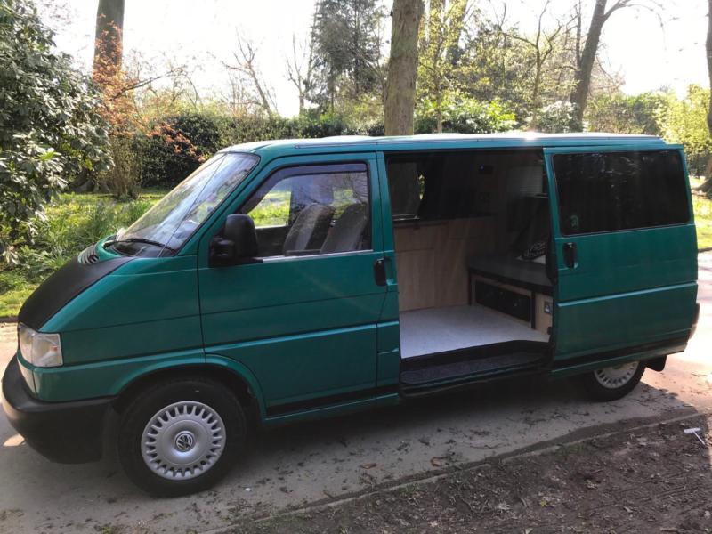 vw volkswagen transporter camper day van t4 conversion 1 9. Black Bedroom Furniture Sets. Home Design Ideas
