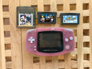 Pink Gameboy (game boy) advanced - perfect condition