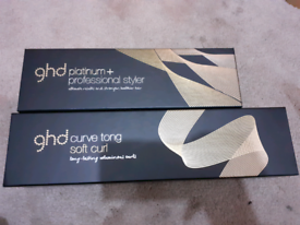 Ghd curve tong and platinum + professional styler