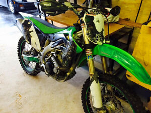 kx450f done up low hrs