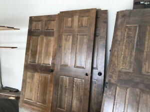 Solid Pine interior doors