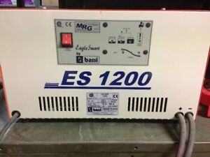 Electric tow motor battery charger