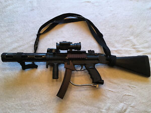 Tippmann A5 kit (mp5 mod and accessories) Amazing Value!!!!! Windsor Region Ontario image 1