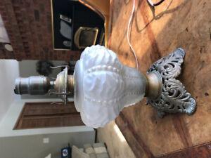 Antique Lamp Base