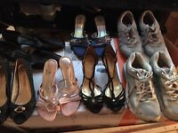Women's assorted shoes