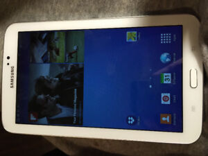 Samsung galaxy 3 tablet great condition