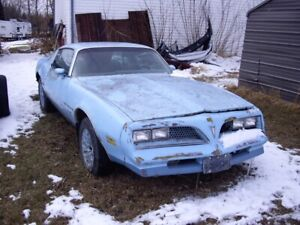parting out various classic cars from 1966-1990