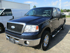 2006 Ford F-150 SuperCrew 4X4 CREW CAB BLUE TOOTH Pickup Truck