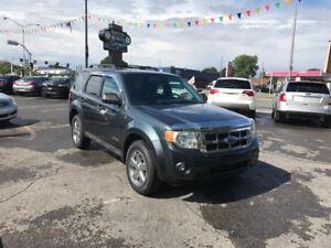 Ford Escape XLT-AUTO-3.0L-MAGS CHROMEES-GROUPE ELECTRIQUE 2008