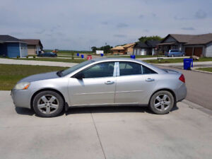 2007 Pontiac G6 GT Sedan. Saftied
