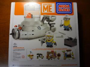 Mega Bloks Despicable ME Minions auto Minion  auto Minion New