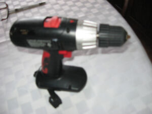 Jobmate 18 v cordless drill very good condition Battery excelle