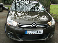 2013 (63) Citroen C4 1.6HDi 16v VTR+ **£20 ROAD TAX**GREAT SPEC**76MPG**