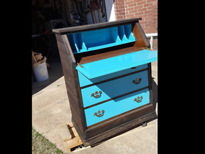 Antique writing desk/dresser