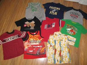 Boys size 5 shirt lot