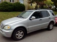 2000 Mercedes-Benz M-Class SUV, Crossover