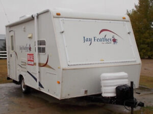 2005 18ft Jay Feather Ultra Lite camper