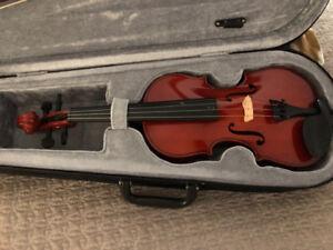 Children's Violin- 1/2 size with Kun shoulder rest
