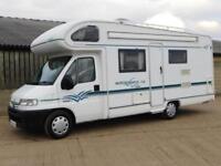 Elddis AUTOSTRATUS 2000, 4 Berth, End Washroom, Peugeot 2.5TD, 32K Miles, VGC!