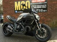 Ducati Diavel Titammium 2015 and 8444 miles