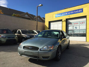 2007 FORD TAURUS, LEATHER LOADED, FRESH SAFETY!! ONLY 93000KM!!!