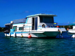 Houseboat for Sale in Exuma, Bahamas