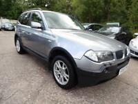 BMW X3 D SE NAV (SAT NAV + 1 OWNER + LEATHER SEAT + PARKING SENSOR)