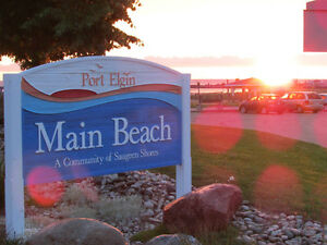 Cottages for rent in Port Elgin.Get your summer vacation booked!