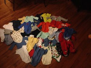 0-3 month baby clothes
