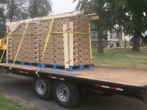 18 ft. Utility Trailer Flatbed for sale