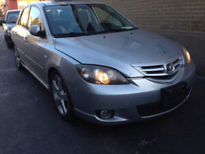 Mazda3 parts  everything available message me for what you need