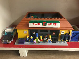 Lego Simpsons Kwik-E-Mart, complete all pieces and minifigs