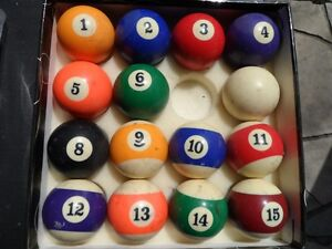 Set of Billiard Balls