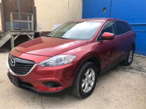 2014 Mazda CX-9 ,  new safety ,Big and powerful family car