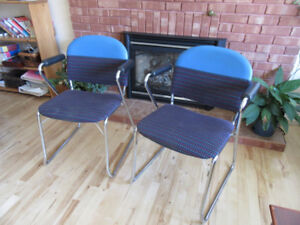 Stackable chair's $25 each & and other furniture for sale