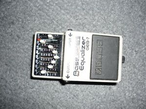boss pedale equalizer  geb-7 tres propre bass pedal