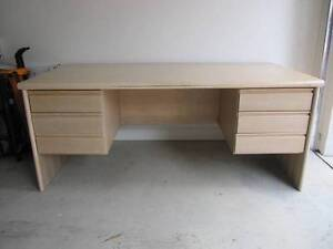 Large desk with six drawers - Bargain! Lane Cove Lane Cove Area Preview