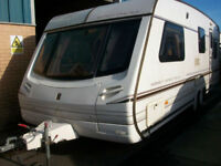 Abbey spectrum 520 twin axle caravan