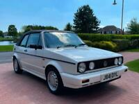 1992 J VOLKSWAGEN GOLF MK1 1.8 90 BHP CLIPPER CABRIOLET CONVERTIBLE AUTO