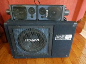 Roland V Drum PA System