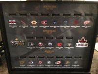STANLEY CUP RING DISPLAY CASE
