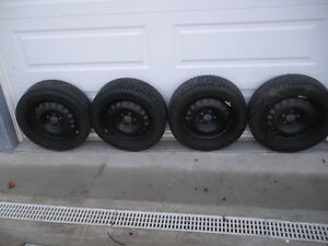 "Winters: 16"" Nokian, excellent condition, like new."