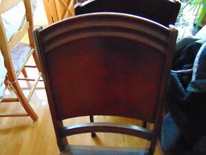 chaises antique West Island Greater Montréal image 3