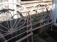 Antique Iron Bedstead.